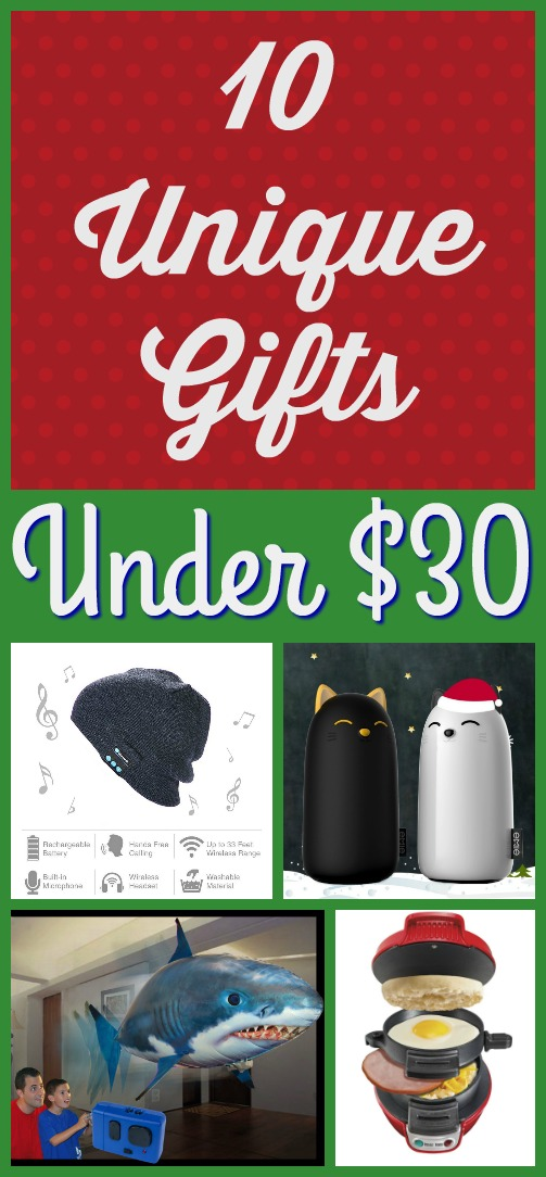 Best cheap unique christmas gifts under 30