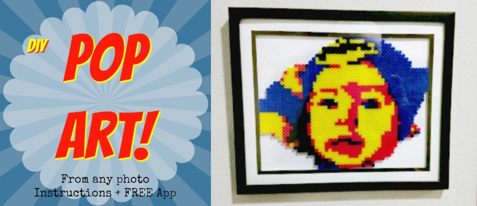 how to create pop art from any photo + free app